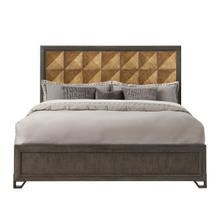 Hudson Queen Bed Headboard in Gold and Black
