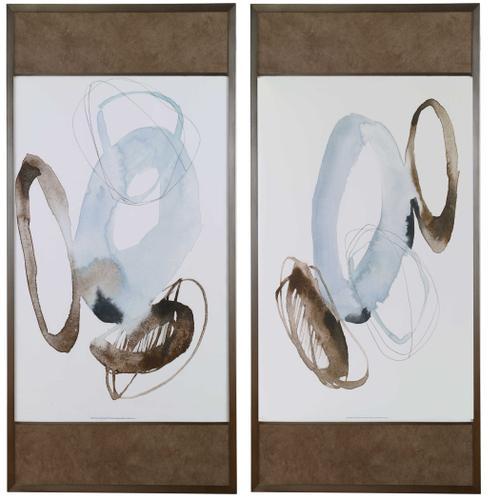 Uttermost - Celestial Framed Prints, S/2, 2 Cartons