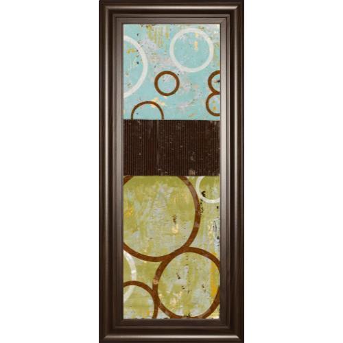 """Sun Flower II"" By Natalie Avondet Mirror Framed Print Wall Art"