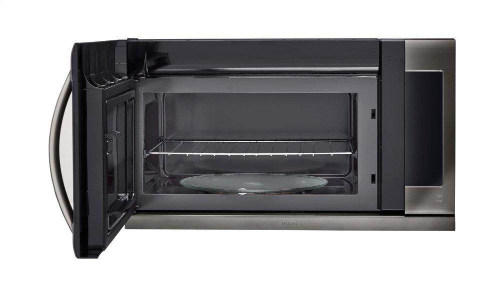 Black Stainless Steel Series 2.2 cu.ft. Over-the-Range Microwave Oven Photo #3