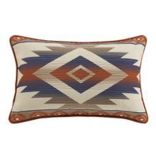 See Details - Blue Aztec Outdoor Pillow,16x24