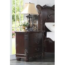 Saillans Solid Wood Construction Fully Assembled Night Stand Cherry Finish
