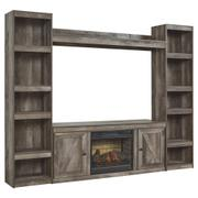 Wynnlow 4-piece Entertainment Center With Electric Fireplace Product Image