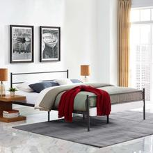 View Product - Alina Full Platform Bed Frame in Brown