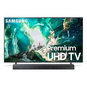 "Samsung Electronics82"" RU8000 Premium 4K UHD TV + Premium Soundbar Bundle"