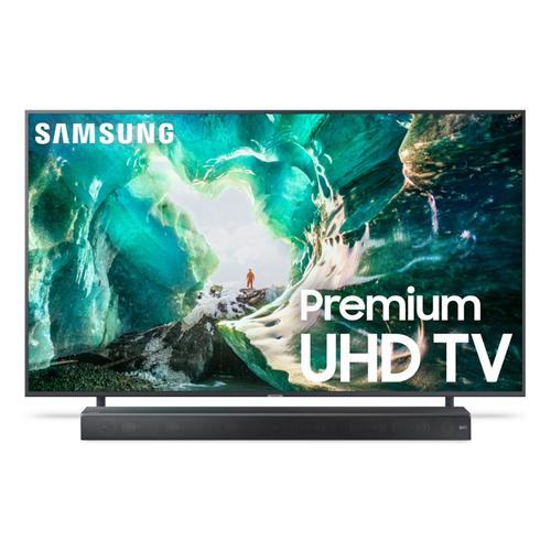 "Samsung - 65"" RU8000 Premium 4K UHD TV + Premium Soundbar Bundle"