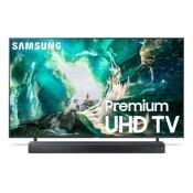 "65"" RU8000 Premium 4K UHD TV + Premium Soundbar Bundle"