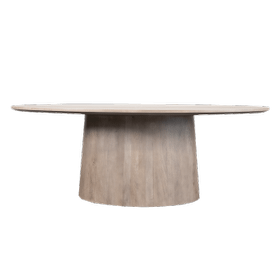 """Merrick 84"""" Oval Dining Table"""