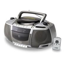 Portable CD/Radio/Stereo Cassette Player/Recorder with Remote Control