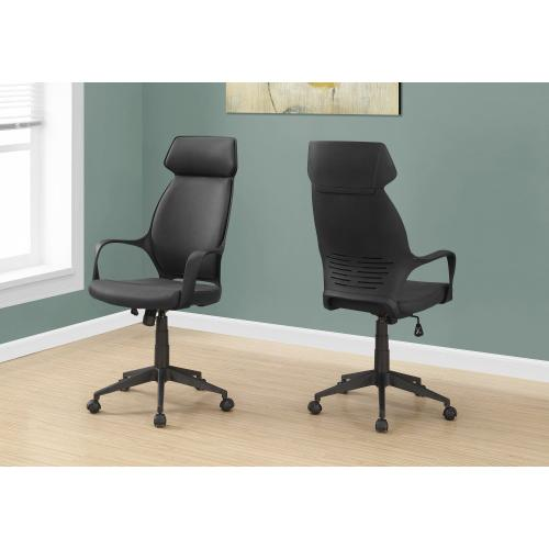 Gallery - OFFICE CHAIR - BLACK MICROFIBER / HIGH BACK EXECUTIVE