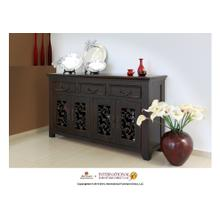 See Details - 63in TV Console w/3 drawers, 4 doors
