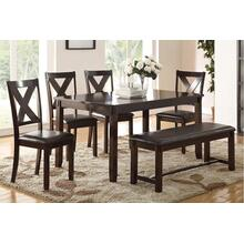 Louise 6-Pcs Dining Set