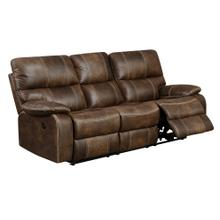 Jessie James Power Reclining Sofa, Chocolate Brown U7130-18-15