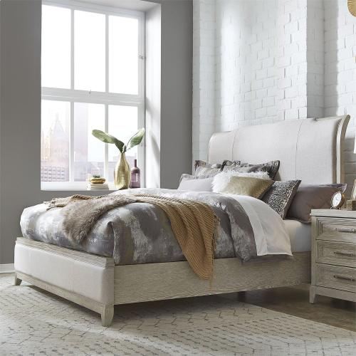 King California Upholstered Bed