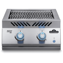 See Details - Built-in 700 Series Dual Infrared Burner with Stainless Steel Cover , Stainless Steel , Natural Gas