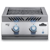 Built-in 700 Series Dual Infrared Burner with Stainless Steel Cover , Stainless Steel , Natural Gas