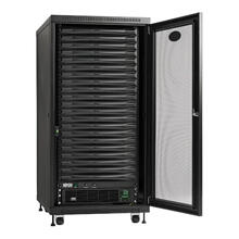 EdgeReady Micro Data Center - 21U, 3 kVA UPS, Network Management and PDU, 120V Assembled/Tested Unit