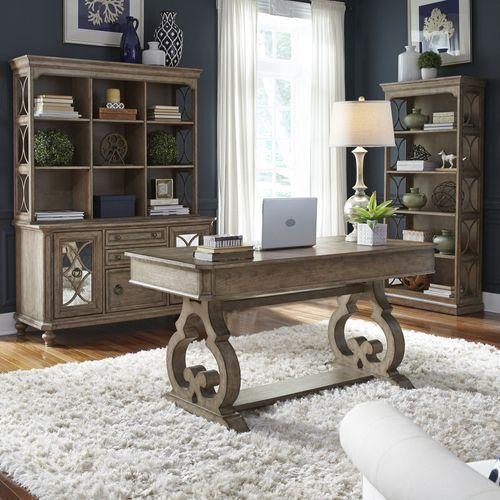 Liberty Furniture Industries - 3 Piece Desk & Hutch Set