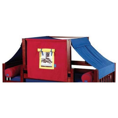 See Details - Top Tent Fabric(Twin) : Blue/Red/Hot Yellow