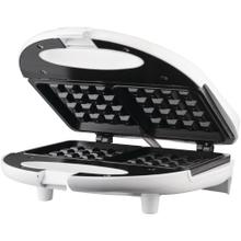Nonstick Dual Waffle Maker (White)