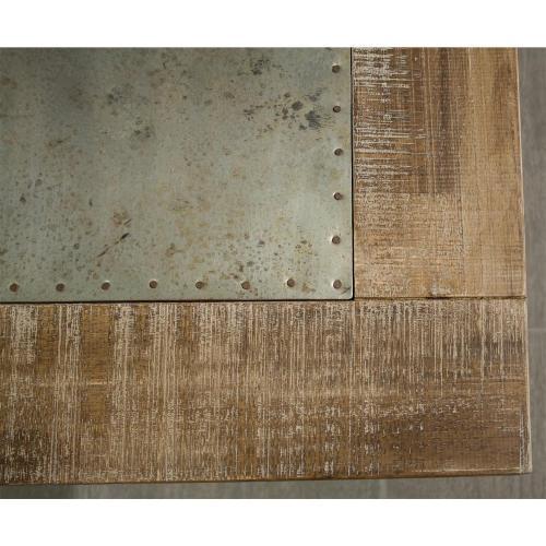 Rowan - Coffee Table - Rough-hewn Gray Finish