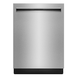 "Jenn-AirLustre Stainless 24"" TriFecta Pocket-Handle Dishwasher, 38 dBA"