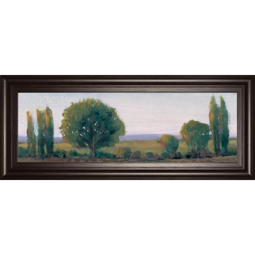 "Classy Art - ""Panoramic Treeline I"" By Tim Otoole Framed Print Wall Art"