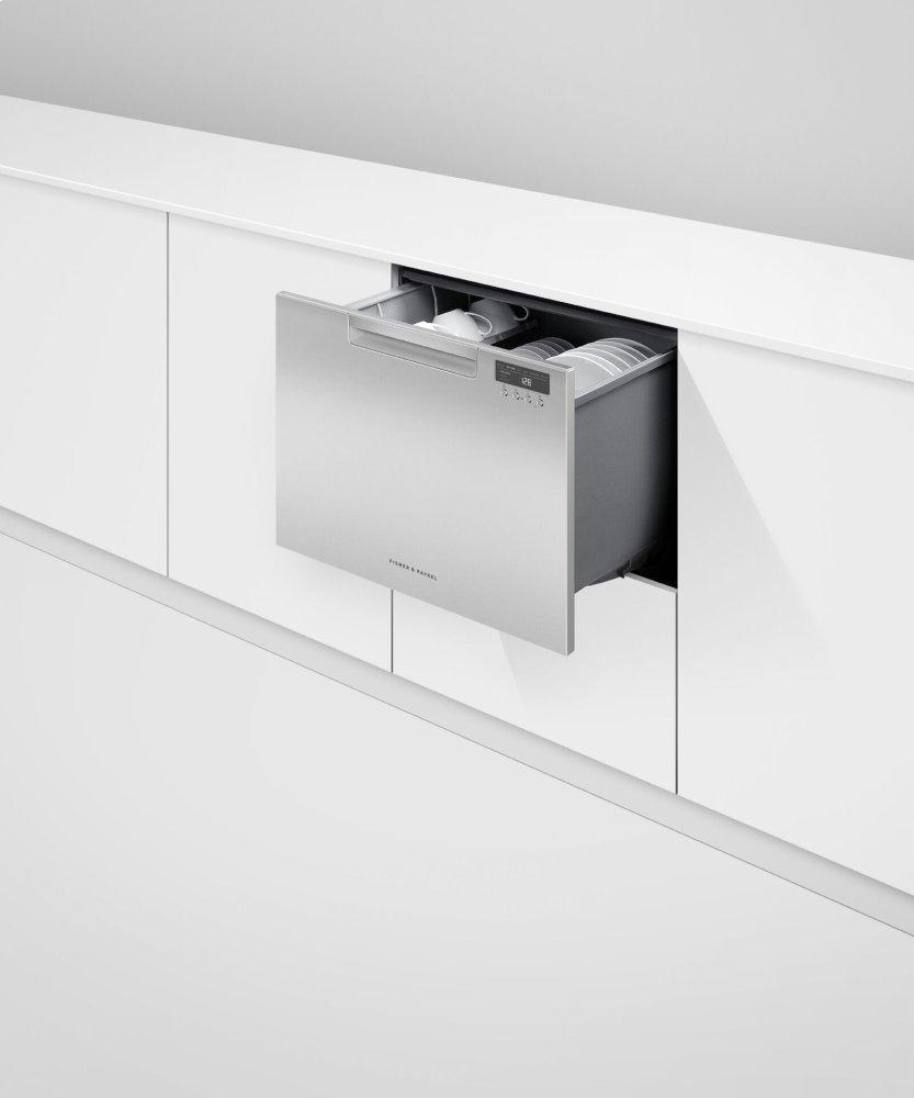 Single DishDrawer Dishwasher, Tall, Sanitize Photo #3