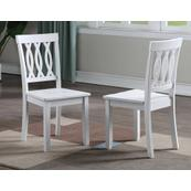 Naples Side Chair, White