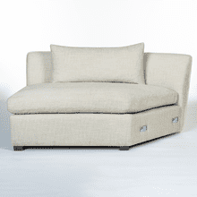 Declan Modular Sectional - Armless RAF WEDGE