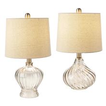 Translucent Grey Swirl Accent Lamp. 40W Max. (4 pc. ppk.)
