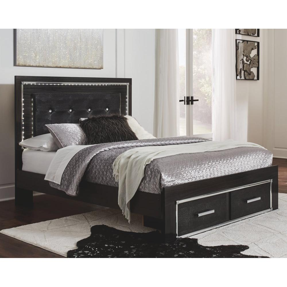 Kaydell Queen Panel Bed With Storage