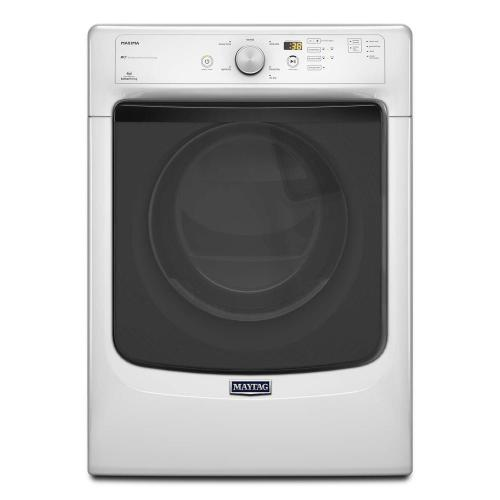 Maytag - Maxima® Front Load High Efficiency Electric Dryer with Large Capacity and Advanced Moisture Sensing - 7.3 cu. ft.