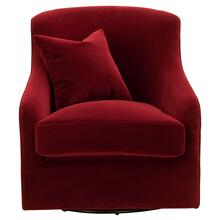 See Details - Mona Swivel Club Chair