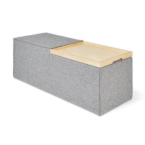 Product Image - Mix Modular Storage Box Parliament Stone / Blonde Ash