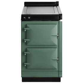 "AGA Hotcupboard 20"" Electric Pistachio with Stainless Steel trim"