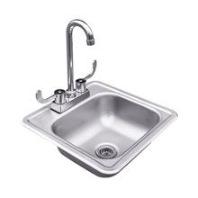 See Details - Stainless Sink & Faucet - RSNK1