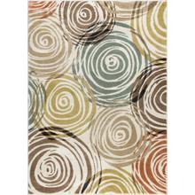 Deco - DCO1016 Ivory Rug (Multiple sizes available)