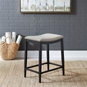 Backless Uph Counter Chair- Black