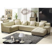 Divani Casa 3334B - Modern Bonded Leather Sectional Sofa