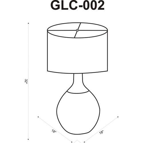 "Glacia GLC-002 32""H x 18""W x 18""D"