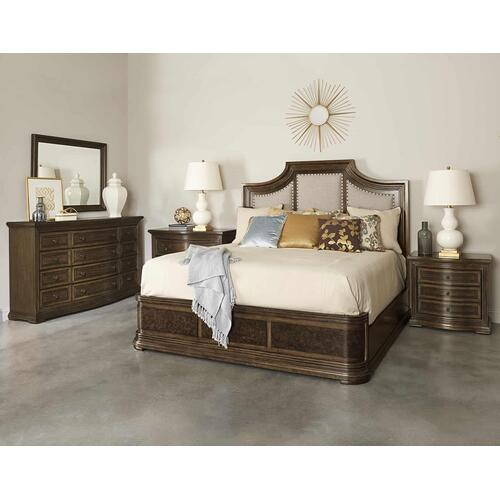 Kingsport 3 Drawer Nightstand