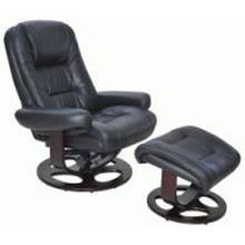 View Product - Chair-pedestal recline w/ottoman