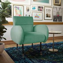 View Product - Babe Mint Green Velvet Chair
