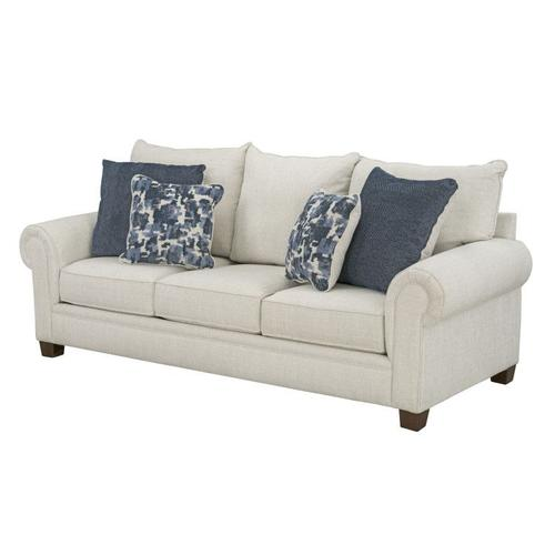 Windermere Upholstered Sofa, Ecru