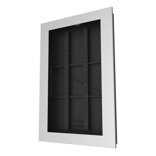 In-Wall Kiosk Enclosures (Portrait) - Silver / 48
