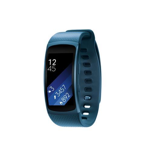 Samsung - Gear Fit2 (Small) Blue