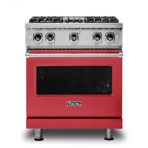 "30"" Sealed Burner Gas Range - VGR530 Viking 5 Series"