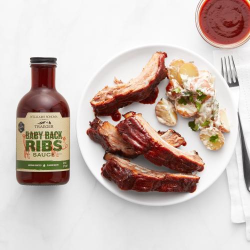 Traeger Grills - Baby Back Rib Sauce - Traeger x Williams Sonoma