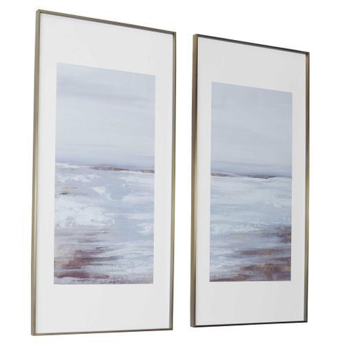 Uttermost - Coastline Framed Prints, S/2, 2 Cartons
